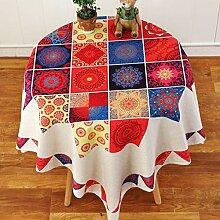 MJK Tischdecken, quadratische Tischdecke, dickere