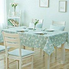 MJK Tischdecken, rechteckige Tischdecke,