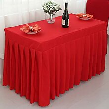 MJK Tischdecken, Tischdecke mit Tischrock,