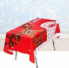 MJK Tischläufer, Tischdecke, Santa Claus