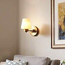 MJK Wandlampe, Wandlampen Innen Messing (Retro,