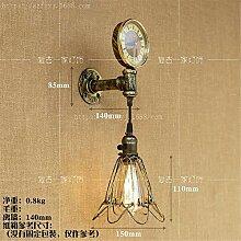 MJSM Light Wandleuchte LED Wandlampe Retro