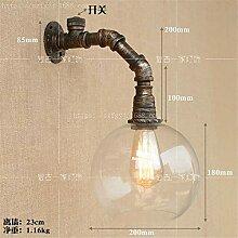 MJSM Light Wandleuchte LED Wandlampe Wasserleitung