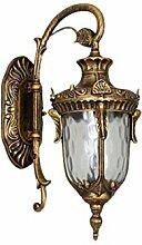 MJSM Light Wandleuchte Retro Wandlampe wasserdicht