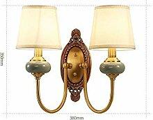MJY Mode Nachttischlampe Amerikanische