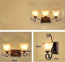 MJY Schlafzimmer Wandlampe Nachttischlampe
