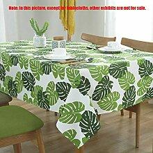 MJY Tischdecken, gelbe und weiße Tischdecke