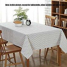 MJY Tischdecken, Tischdecke Continental Einfache