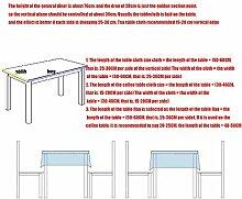 MJY Tischdecken, Tischdecke, pastorale