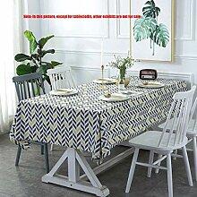 MJY Tischdecken, Tischdecken aus Baumwolle und