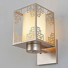 MJY Wandlampe eine Nachttischlampe Schlafzimmer,