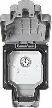 MK Masterseal Plus K56425GRY Schlüsselschalter, 20A