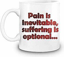 MkbDm Schmerz ist unvermeidlich, Leiden ist