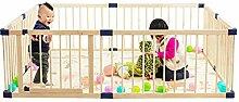 MKJYDM Baby-Laufstall Kinder-Aktivitätscenter