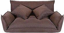 MKJYDM Doppelklappsofa, Bequeme Couch, kostenlose