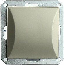MKK - 18067-022 - Steckdose Lichtschalter Taster ohne Rahmen Unterrputz Jalousieschalter weiß sand Taster: Türöffner Sand