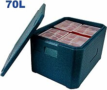 MKKM Auto Kühlschrank-Kühlbox 70L Tragbare