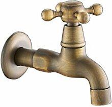 Mkkwp Hochwertige Antik Bronze Wasserhahn Für