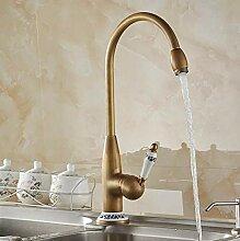 Mkkwp Küchenarmaturen Antik Bronze Wasserhahn