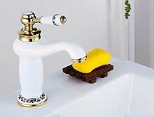 Mkkwp Messing Waschbecken Armaturen Luxus