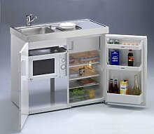 MKM100 Singleküche Kompaktküche Mini-Küche mit