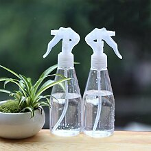 Mkono 2Stück Kunststoff Sprühflasche Blumen Pflanzen Mist Spritze für Succulents airplants 200ml