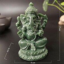 MKYXLN Lord Ganesha Statue Buddha Skulptur Figur