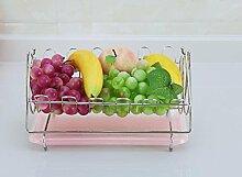 MLGG Kreative Früchtekorb Abfluss Korb Obst