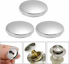 MLJTECH 3 Stück Badezimmer Waschbecken Druckknopf