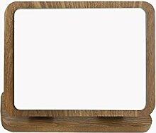 MLMHDD Desktop-Klappspiegel Aus Holz Hohe Liste