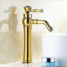 MLMQ Einhebel Waschtischarmatur, Golden Bad