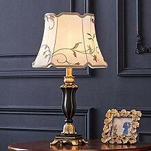 MLMQ Europäischer Stil Tischlampe, Retro