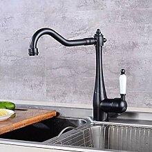MLMQ Schwarz Küchenarmatur, Küche Wasserhahn mit