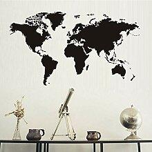 mlpnko Nordic kreative Dekoration Weltkarte Atlas
