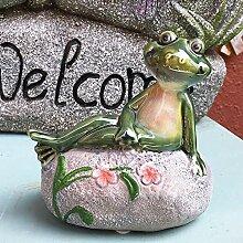 Mlzaq Garten Ornamente kreative glückliche Tier
