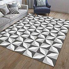 MMFXUE Teppich Fußbodenfläche Soft-Touch-Start,