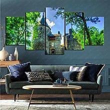 mmkow 5 Stücke Fotografie auf dem Bild HDR