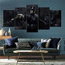 mmkow Panel Wandkunst 5 Stück Film Avengers