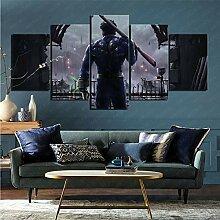 mmkow Wandbild 5 Stück Set Videospiel Fallout 4