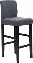 MMLI-Stühle Minimalistische Retro Hohe Fußhocker