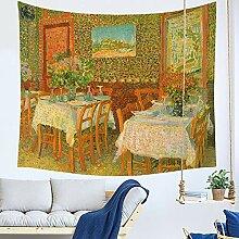 MMLUCK Tapisserie Dekorative Wandbänder Drucken