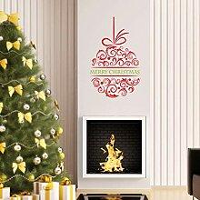 MMLXHH Wandaufkleber Neue Heiße Weihnachten Apple