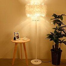 MMM Kristall Feder Stehlampe Nacht Einfaches