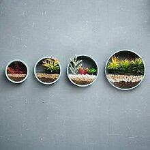 MMM Milch Tee Shop Restaurant Wanddekoration Wandbehang Pflanze Kreatives Haus Schlafzimmer Wohnzimmer Anhänger ( Farbe : Blau )