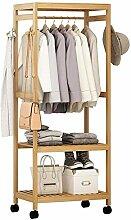 MMMP Holzkleiderständer, Bambus Kleiderständer