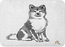 MMPTN Badezimmer saugfähigen Akita Hund