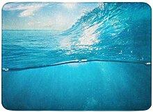 MMPTN Badezimmer weich saugfähig unter Wasser