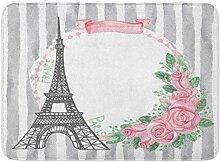 MMPTN Badezimmer weich schön Paris Eiffelturm