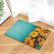 MMPTN Blumen-Blumen-Dekor-Sonnenblume auf
