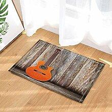 MMPTN Music Decor Klassische Gitarre auf Holz Zaun